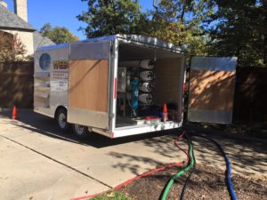 Our mobile filtration trailer